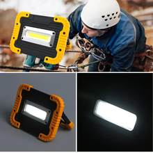 Portable Lampu Kerja COB 10 W Lampu Kerja LED USB Rechargeable Lampu Sorot Outdoor Camping LED Lentera Senter Emergency Light(China)
