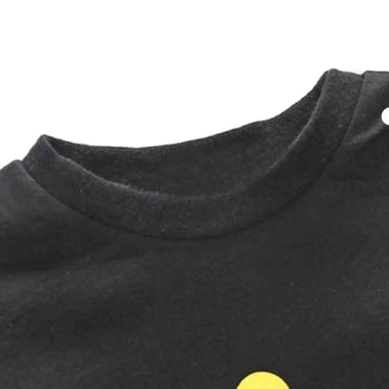 Одежда для маленьких мальчиков, одежда хлопковый боди с длинными рукавами и принтом короны, черный комбинезон, весна-осень, для детей 0-24 месяцев, 2019