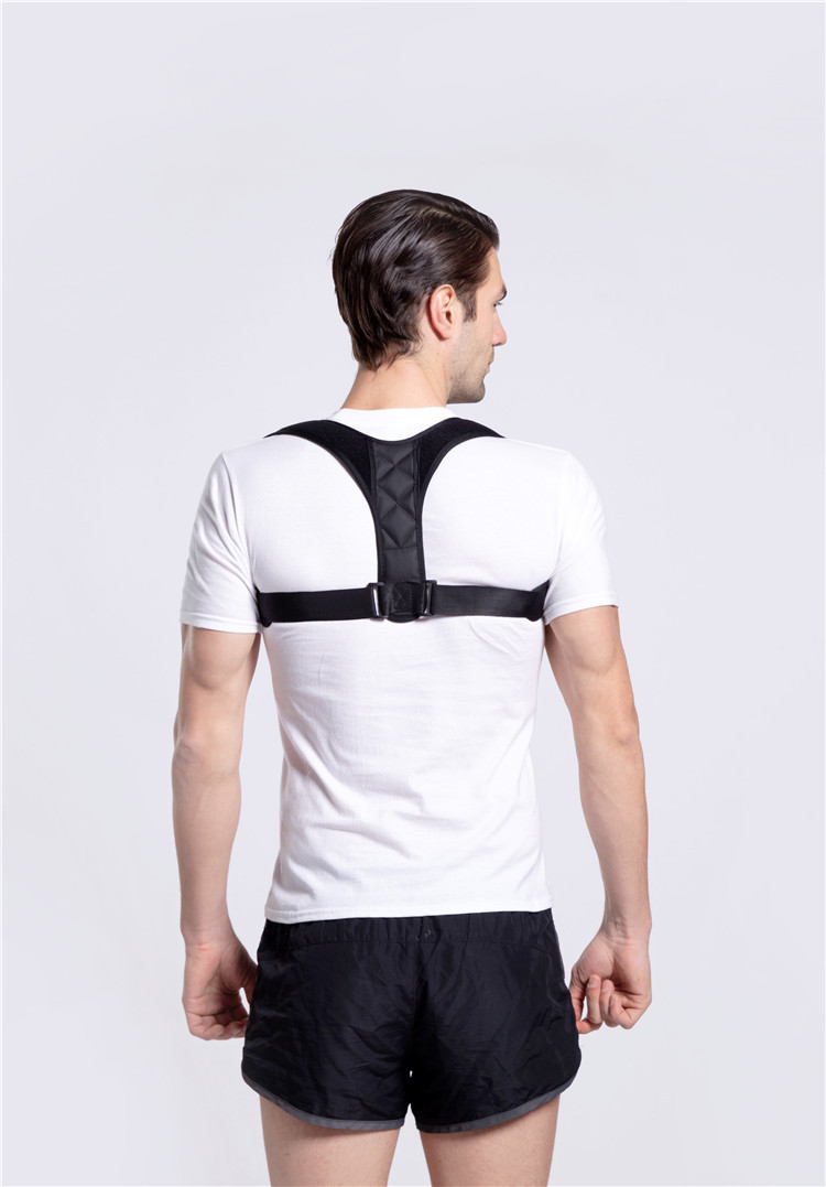 1pc hunchback breathable Body Builder chest Support Belt Adjustable For Adult Kids Posture Corrector body posture in Resistance Bands from Sports Entertainment