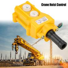 цена на Waterproof Hoist Switch Control Crane Chain Hoist Push Button Switch Lifting Pendant Rainproof Controller toggle switch