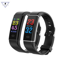 Smart Bracelet D12 Wristband Heart Rate Blood Oxygen Sleep Monitor Fitness Tracker Band Color Display Sport