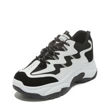 Women Shoe New Pattern Korean Fashion Dad Woman White Platform Sneakers Increase Casual Women's Tenis Feminino Zapatos De Mujer