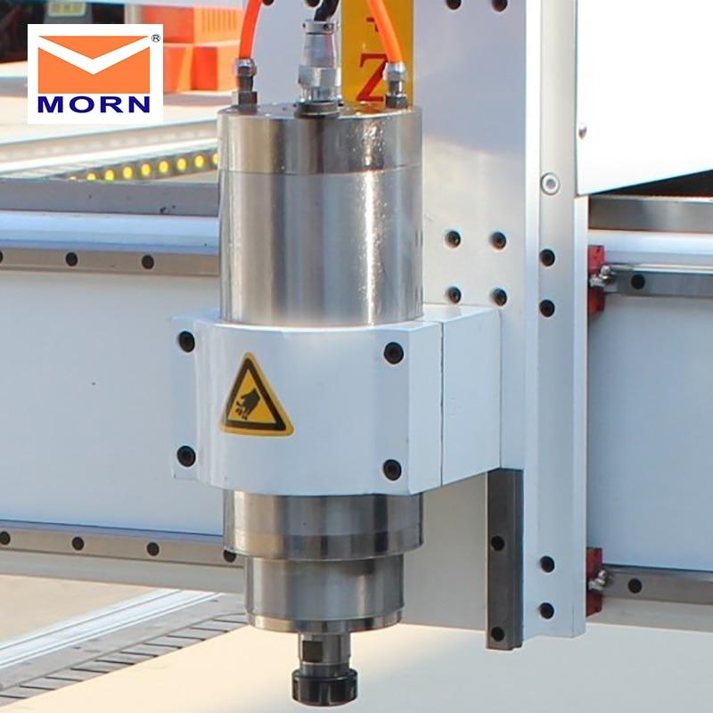 MORN Mini routeur automatique changeur d'outils 1.5KW broche refroidissement par eau 3 axes publicité CNC routeur pour métal, acrylique, MDF