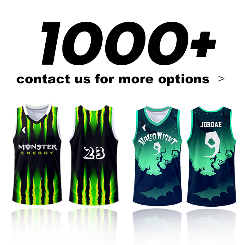 Hot Sale 1000 Designs Fully Sublimation Customized Basketball Jersey