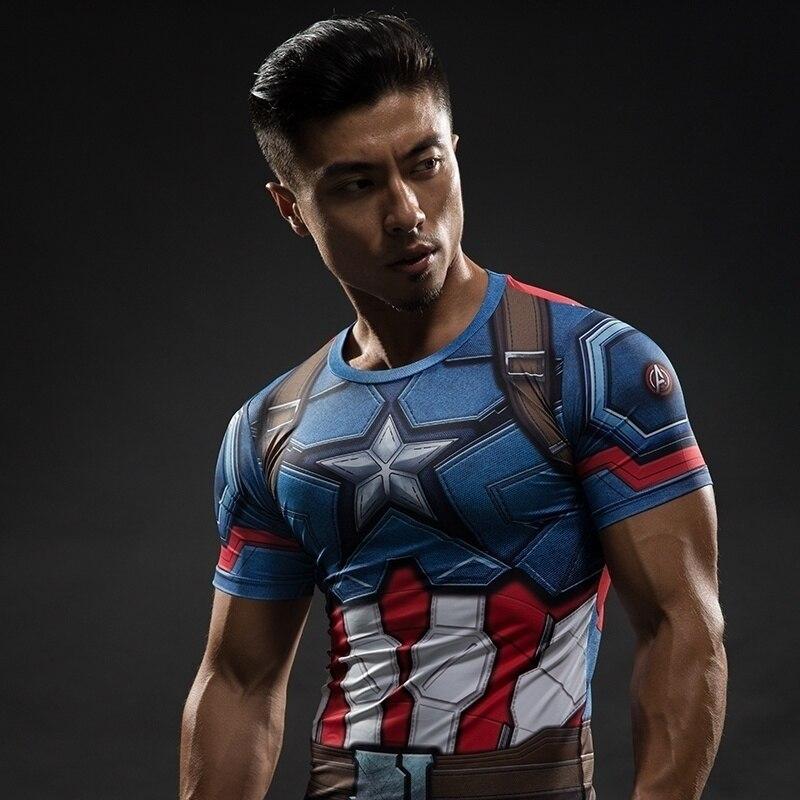 Maillot de Manga Kostium Collants Homens Gymtraining Camisas