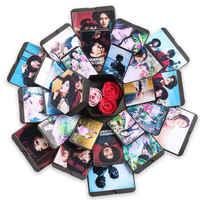Nuevo álbum de fotos hexágono sorpresa explosión caja DIY álbum de fotos para regalo de boda de San Valentín