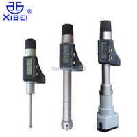 Xibei merk 8-10-12-16-20-25-30mm digitale Drie punt interne Micrometers 0.001mm elektronische drie punt binnen micrometer