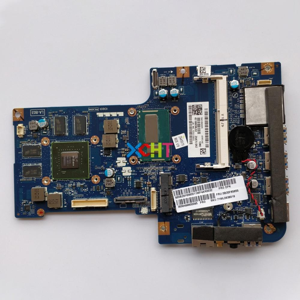 5B20F65655 LA-B031P w i7-4558U CPU w N15P-GT-A2 GPU for Lenovo IdeaCentre A740 NoteBook PC Laptop Motherboard Mainboard5B20F65655 LA-B031P w i7-4558U CPU w N15P-GT-A2 GPU for Lenovo IdeaCentre A740 NoteBook PC Laptop Motherboard Mainboard