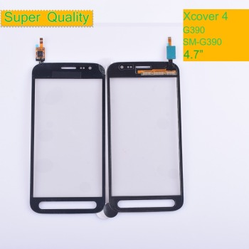 10Pcs/lot G390 For Samsung Galaxy Xcover 4 SM-G390F G390F G390 Touch Screen Panel Sensor Digitizer Front Glass Lens Touchscreen 10pcs lot touchscreen for samsung galaxy grand j1 mini j105 sm j105y j105h touch screen digitizer sensor touch glass lens panel