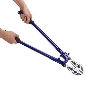Heavy Duty stal wysokowęglowa drut kabel szczęki łańcuch kłódka Cutter Bolt Cropper narzędzia tnące 90 cm/60 cm opcjonalne narzędzie