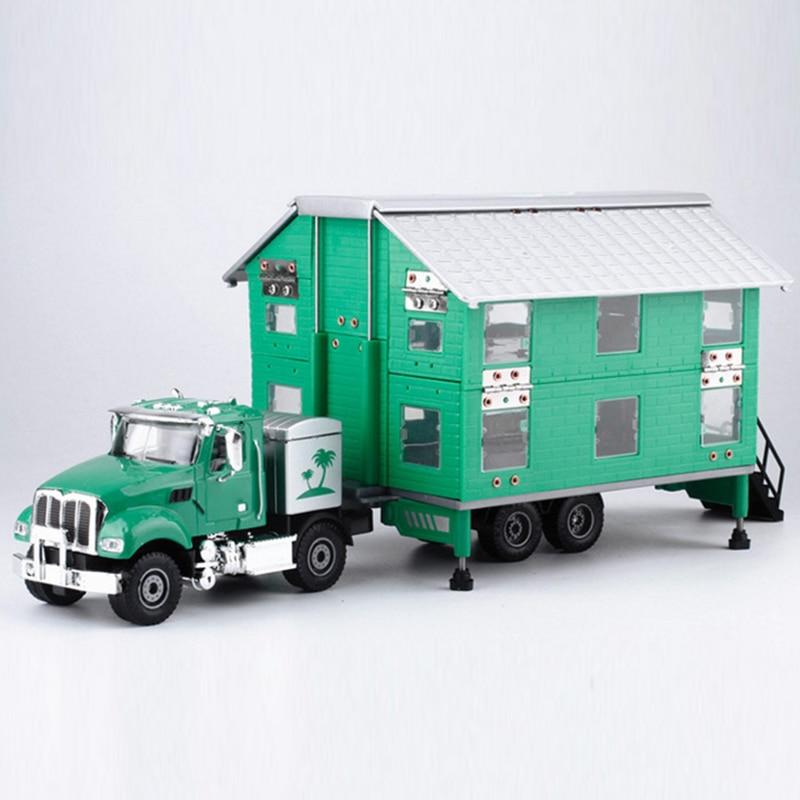 New Kids Gift Children Motor Homes Toy Touring Car Model Campervan Caravan цена