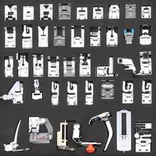 42pcs Multi-functional Domestic Sewing Machine Presser Feet Set for Brother Singer Janome Presser Feet Braiding Blind Stitch(China)