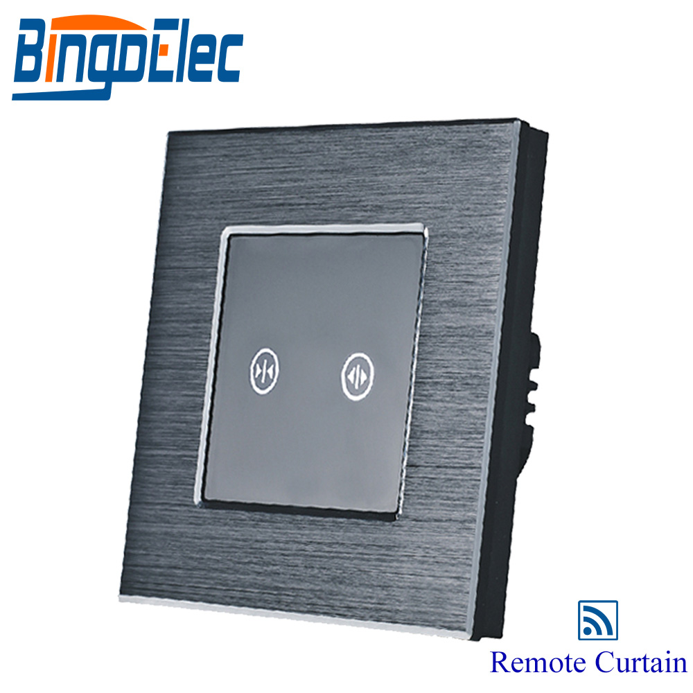 EU/UK silver remote curtain window switch, roller shutter switch, AC110-240V,Hot saleEU/UK silver remote curtain window switch, roller shutter switch, AC110-240V,Hot sale