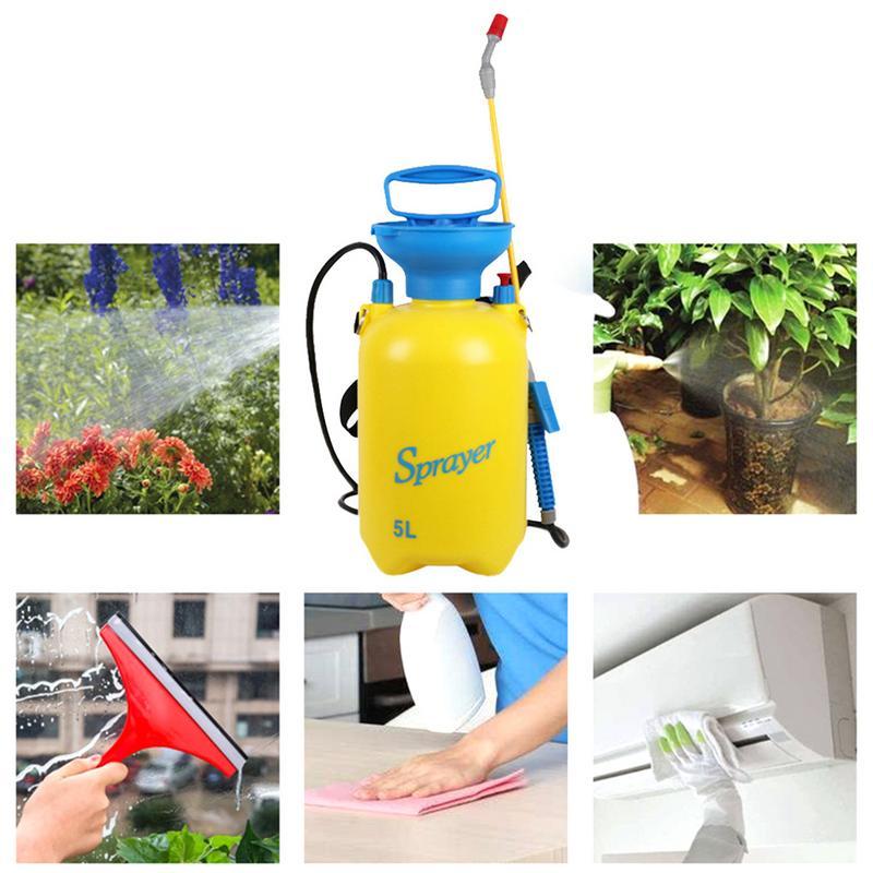 3L/5L Latest Small Gardening Manual Pressure Agroatomizer Strap Manual Sprayer Spray Bottle Washing With High Water Sprayer
