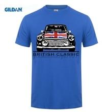 цена на GILDAN 2017 austin mini printed tshirt Men's Summer Style austin mini Cooper Austin Classic Car T Shirt Short Sleeve Tee