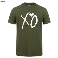 GILDAN  The Weeknd XO t shirt men anime T-Shirt Tops Girl Short Sleeve t-shirt top Tee Clothes