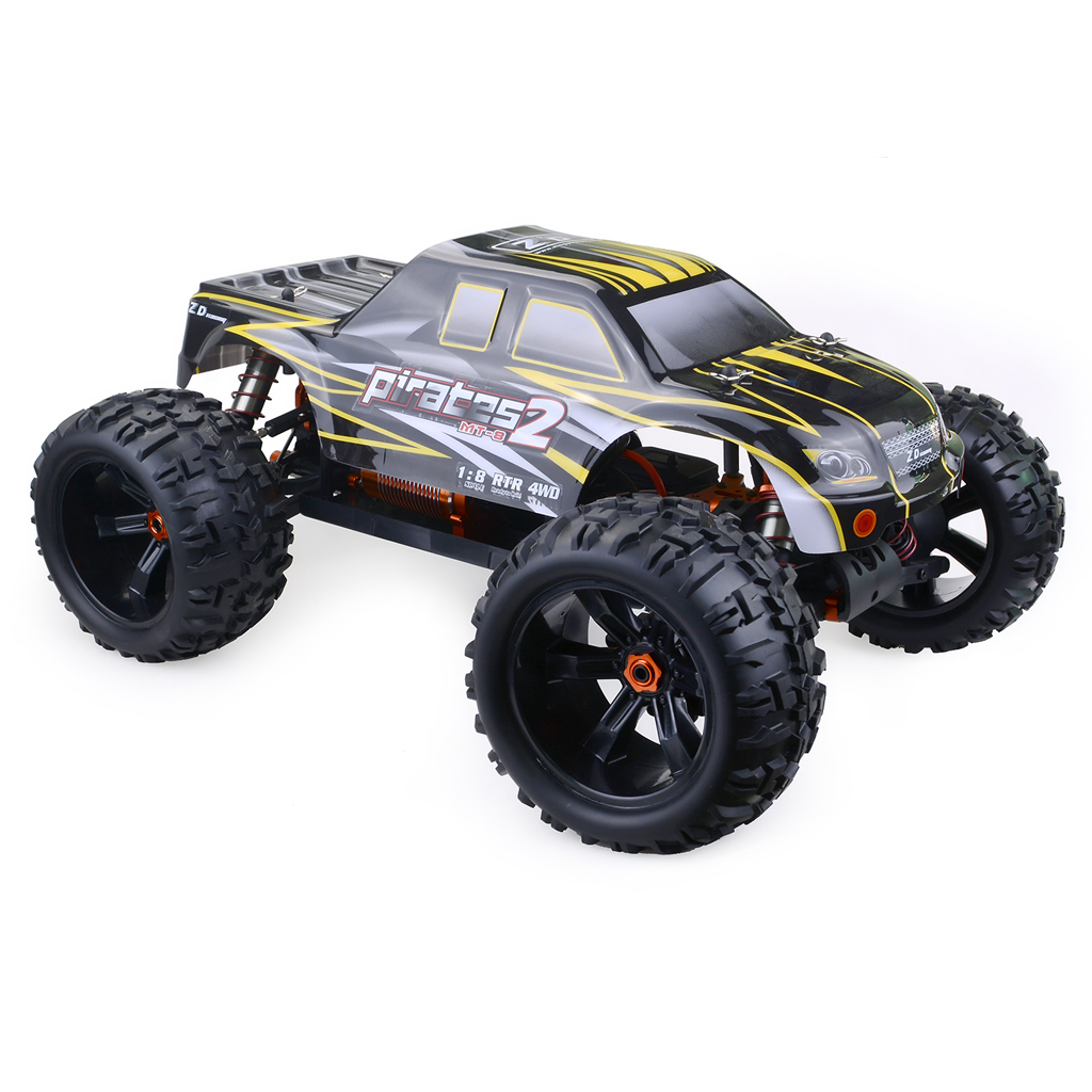 ZD Racing 9116-V3 120A Waterproof Brushless ESC Monster Truck Full-Scale Tiny Real Racing Car Alloy 6061 DIY Frame Kit Version  - buy with discount