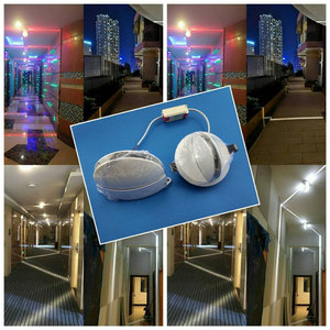 Image 3 - LED 8W outdoor waterproof window light four sided luminous wall lamp contour light creative door frame sconce lamp AC85 265