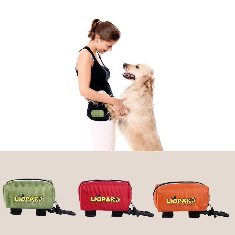 Waterdichte Hond Kak Zak Draagbare Hond Behandelen Pouch Outdoor Huisdier Opbergtas Huisdier Kruk Zak Outdoor Product Hoge Kwaliteit 2019 nieuwe