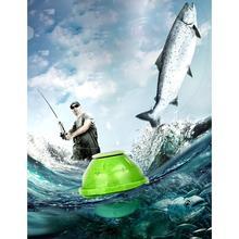 Wi-Fi гидроакустический преобразователь Ocean Беспроводной 7 В 90 аккумуляторная Портативный литиевых градусов 3 тревоги 5 В рыбный датчик 1A 70 м Finder 45 м