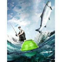 Wifi Transducer Sonar Ocean Wireless 7V 90 Rechargable Portable Lithium degree 3 Alarm 5V Fish Sensor 1A 70m Finder 45M