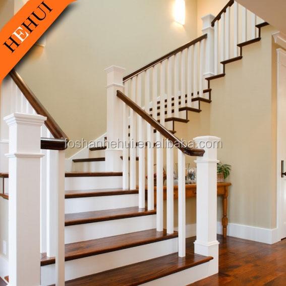Barandilla madera exterior great carril para escaleras for Barandilla escalera exterior