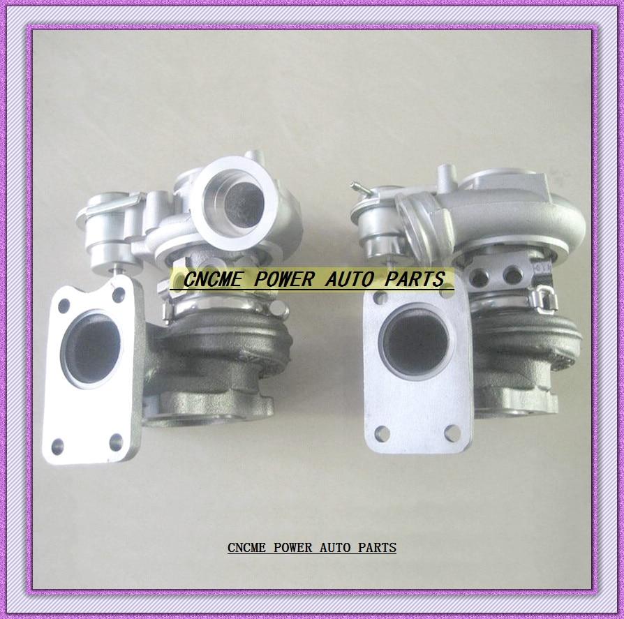 Modest 2pc Turbo Td03-08g 49131-05101 49131-05000 49131-05010 8601455 9471564 For Volvo Pkw S80 Xc90 98 B6284t T6 2.8l Air Intake System