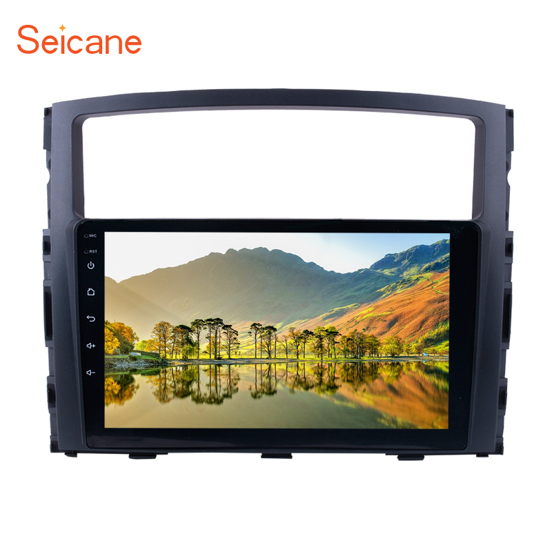 Seicane Android 8 1 7 1 9 2Din Car Radio For Mitsubishi PAJERO V97 V93 2006
