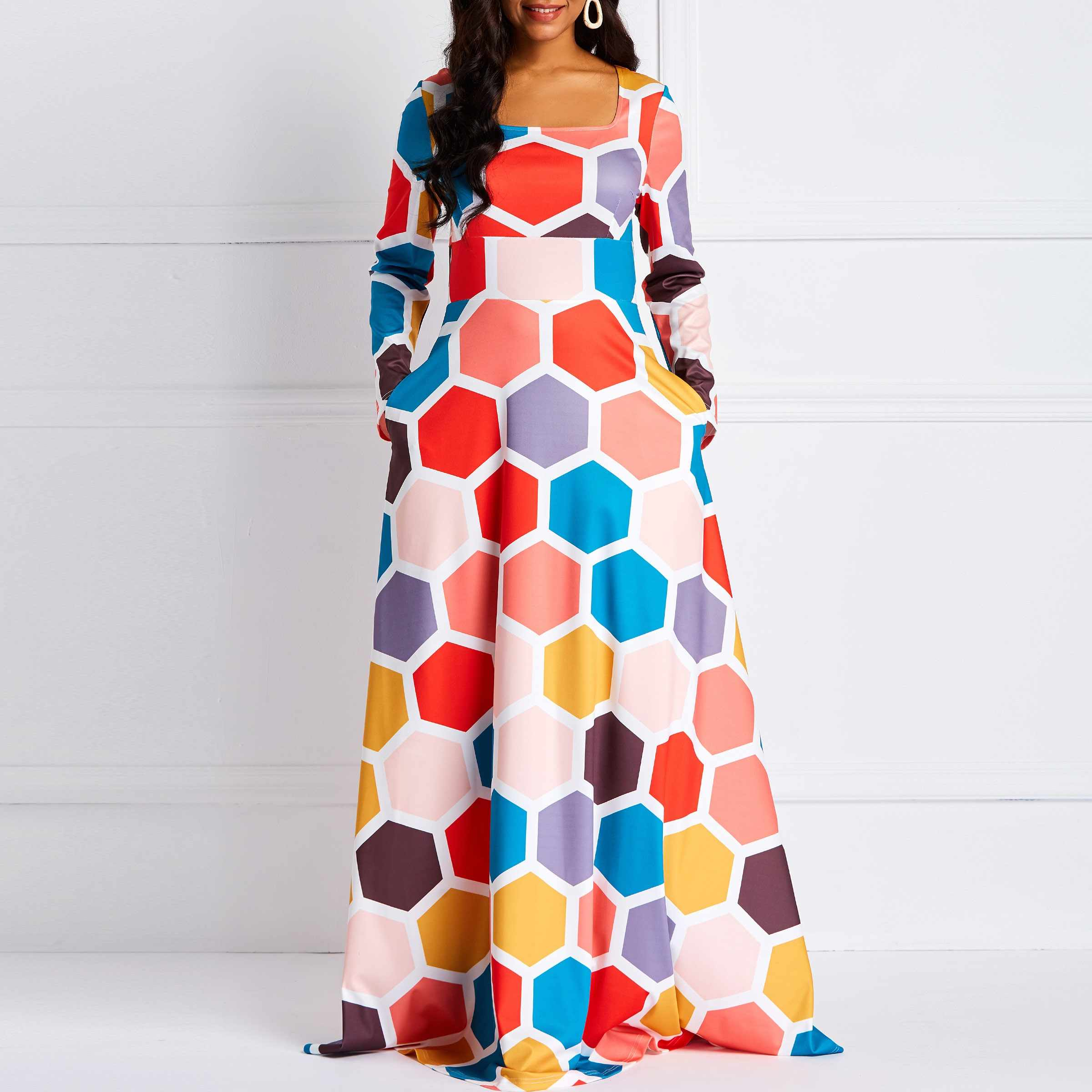 f9fdb71983587 Detail Feedback Questions about Clocolor Women African Long Dress ...