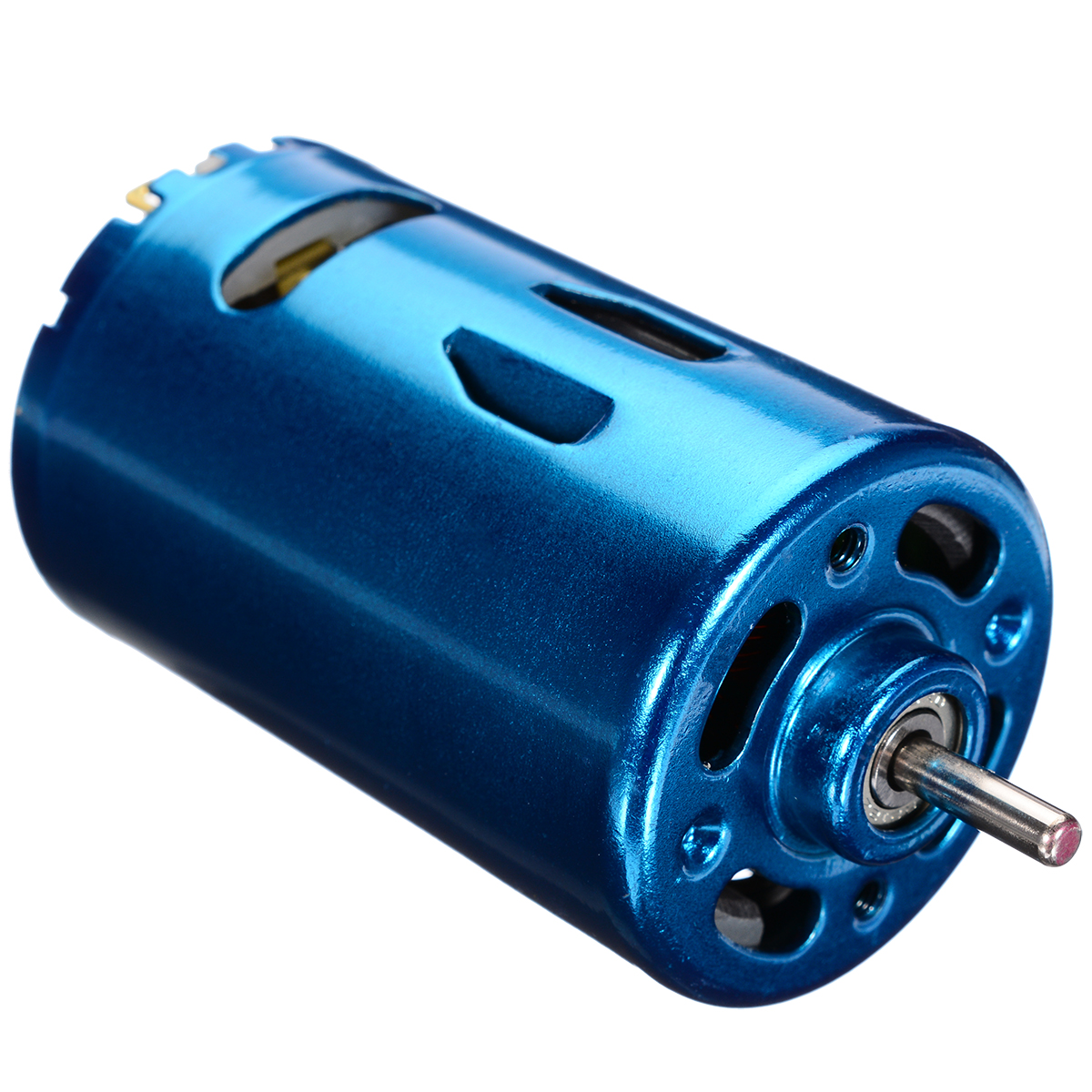 1Pcs High Speed Blue RS-550 DC MotorLarge Torque RC Car Boat Model 12V 24V 30000RPM DC Motor High Quality