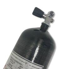 ACECARE Paintball air gun carbon tank mini scuba tank 9.0L 4500psi carbon fiber gas cylinder with YOKE  diving valve AC30951