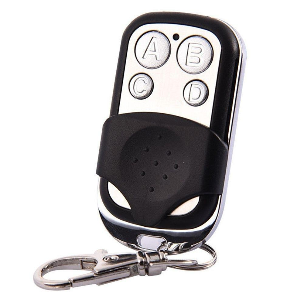 Image 2 - New Remote Control 433mhz Electric Cloning 4 Channel Universal Copy Code Gate Garage Door Opener Key RF Fob Universal-in Remote Controls from Consumer Electronics