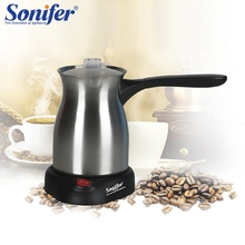 Original Stainless Steel Coffee Machine Turkey Coffee Maker Electrical Coffee Pot Coffee Kettle Sonifer(China)