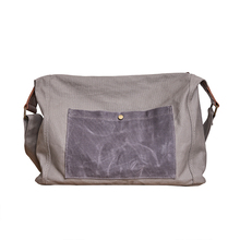 Vintage Canvas Bag Large Capacity Men's Messenger Bags Crossbody Shoulder Bags Zipper Traval Casual Bags недорого