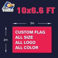 3m x 2m Custom Flag Advertising Customize LGBT Hand Flag Free HD Design Digital Printing 100D Polyester All Styles and Logos