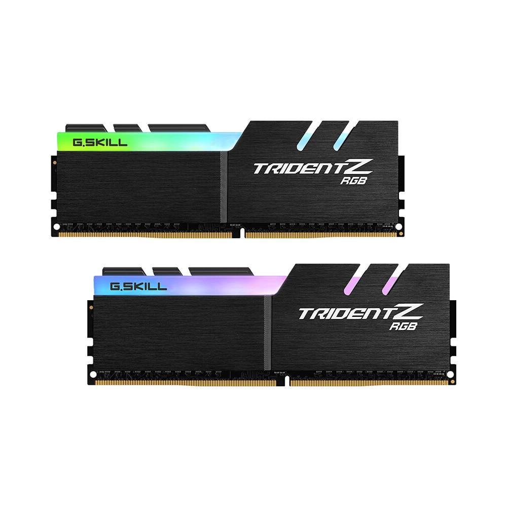 G SKILL TridentZ RGB Series 16GB 2 x 8GB DDR4 3200MHz F4 3200C16D 16GTZR RAMS For