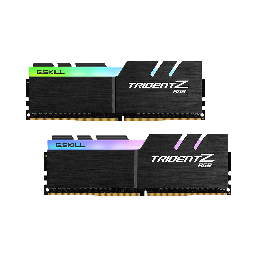 G.SKILL TridentZ RGB Series 16GB (2 x 8GB) DDR4 3200MHz F4 3200C16D 16GTZR RAMS For PC Computer Desktop DDR4 Memory 16 18 18 38-in RAMs from Computer & Office    1