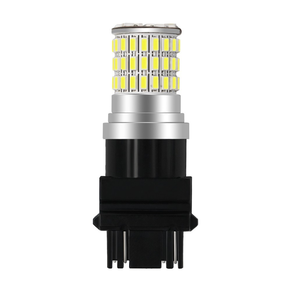 1 Piece T20 LED 7440 W21W W21 5W Led Bulbs 3014 66smd 1156 BA15S P21W LED BAU15S PY21W Lamp Turn Signal Light 10 30V in Signal Lamp from Automobiles Motorcycles