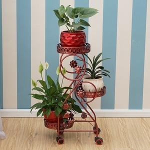 Image 3 - Decorative Metal Dekoru Sera Dekarosyon Mensole Per Fiori Afscherming Shelf Plant Stand Balkon Balcony Flower Iron Rack
