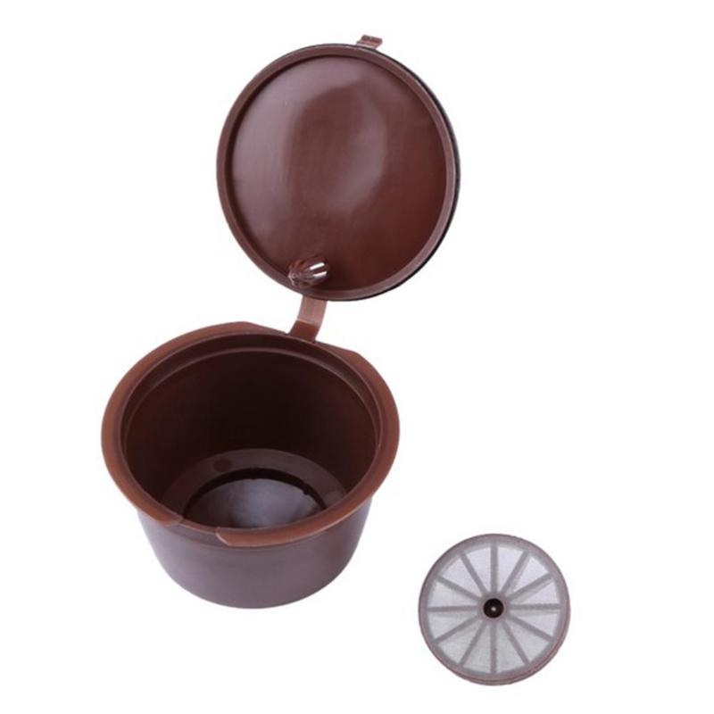 Plastic Coffee Filters Refillable Reusable Baskets Capsule Cup Taste Sweet Coffee Filter Baskets For Dolce Gusto For Nestle