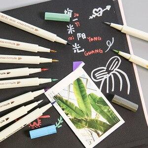 1 Pcs Colorful DIY Metal Waterproof Permanent Paint Marker Pens Graffti Oily Sharpie Drawing Manga Art Set