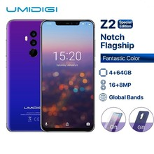 UMIDIGI Z2 Special Edition Global Bands 6.2″ FHD+Full Screen Helio P23 4G+64GB F/1.7Big ApertureCamera Android 8.1 4G Smartphone