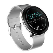 Leegoal Smart Wristband Bluetooth Step Heart Rate Tracker Smart Bracelet Smart Watch for IOS Android цена