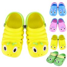 Plastic Baby Sandals Shoes Waterproof Summer Girls Boys Sandals Children Caterpi