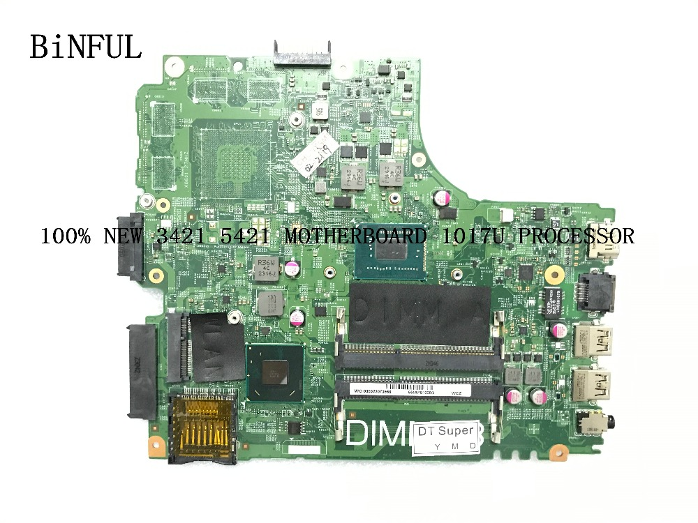 FAST SHIPPING. BRAND NEW , 11204-1 DNE40-CR PWB :5J8Y4 <font><b>3421</b></font> mainboard FOR <font><b>DELL</b></font> INSPIRON <font><b>3421</b></font> /5421 motherboard ,<font><b>i5</b></font> processor image