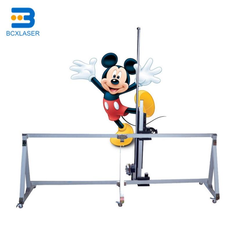 Direct To Wall Printer 3D  Vertical ZeescaBCX Wall Printing Equipment Wall Printer