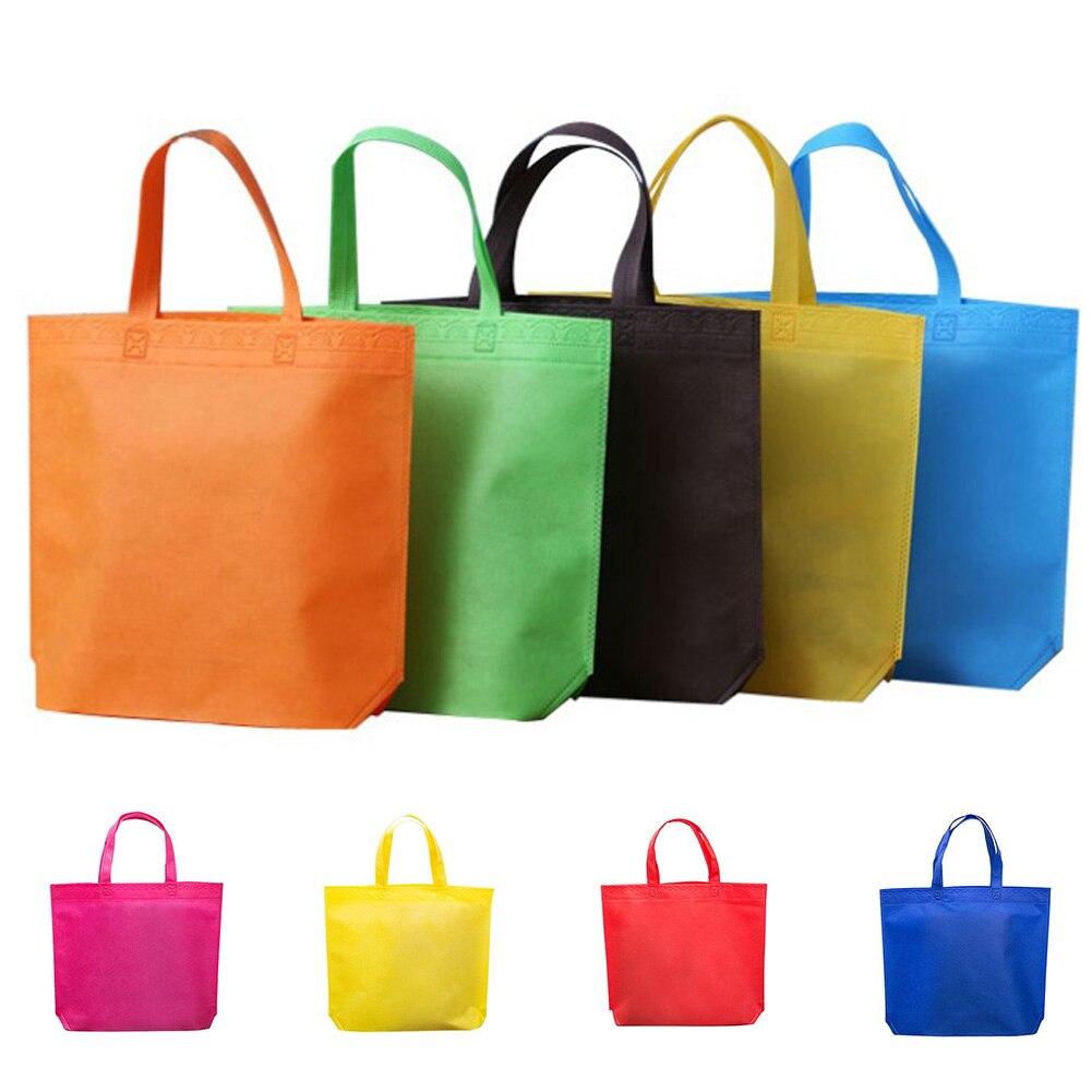 1PC Nonwoven Shopping Bag Reusable Tote Bag Grocery Storage Handbag Shoppers1PC Nonwoven Shopping Bag Reusable Tote Bag Grocery Storage Handbag Shoppers