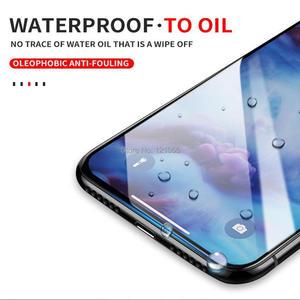 Image 3 - 高品質フルカバー強化ガラスxs最大xr × 8 7 6 6sプラス5sスクリーンプロテクターフィルムガラス100ピース/ロット卸売