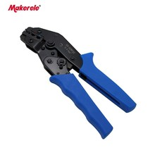 Electric cable crimper SN-02WF2C type 0.5-2.5mm2 professional wire crimper for wire-end ferrules and insulated cable links