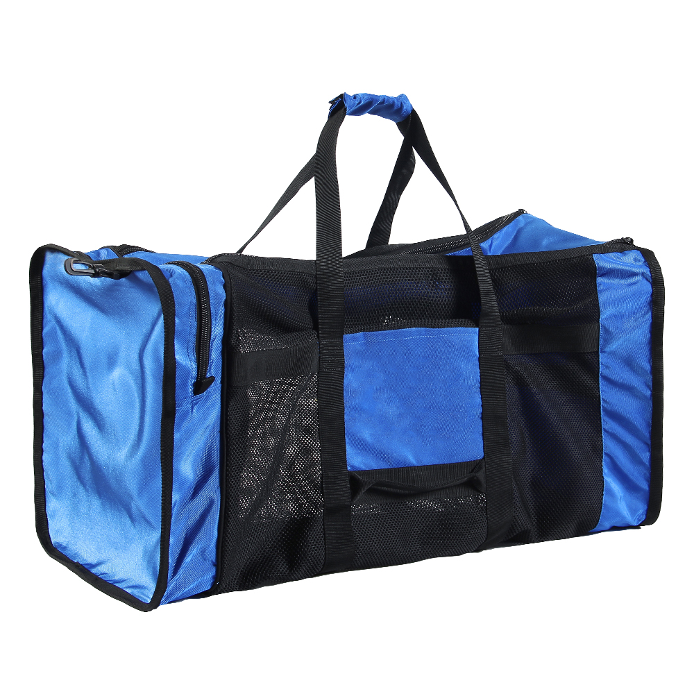 100L Mesh Duffle Gear Bag For Scuba Diving Snorkeling Swimming Beach And Sports Equipment
